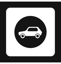 Sign cars icon simple style vector image vector image