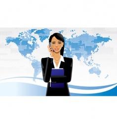 business women vector image