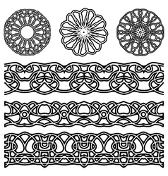 Ornaments for design vector