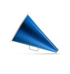Icon megaphone speaker vector image