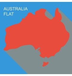 australia vector image vector image