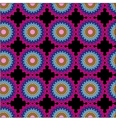 Seamless pattern Pink purple and blue color vector image vector image
