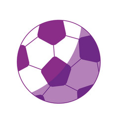 Soccer ball cartoon vector