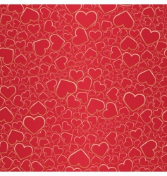 valentine seamless background vector image vector image