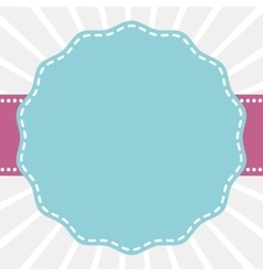 Seal stamp label banner icon graphic vector