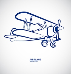 Airplane 8 vector
