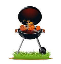 Barbecue meat vector