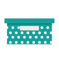 Office box isolated icon design vector