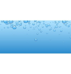 Banner with bubbles vector image vector image