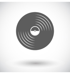Record icon vector image
