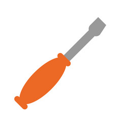 screwdriver mechanical tool vector image vector image