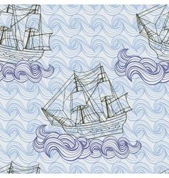 ship pattern vector image
