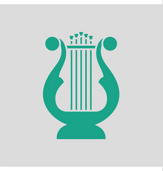 Lyre icon vector image