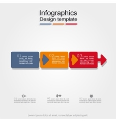 Banner infographic design template vector