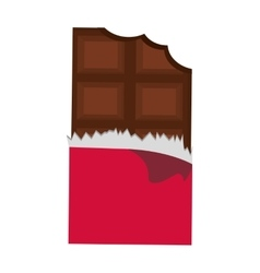 Motorcchocolate icon dessert or sweet design vector