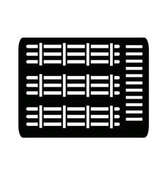 Computer data file center hosting cloud transfer vector