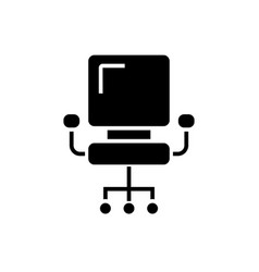 Office chair - ceo icon vector