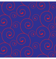 seamless texture with swirls vector image