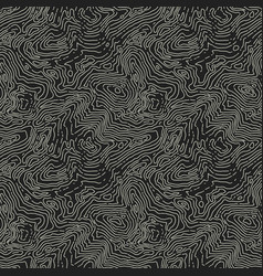 Seamless topographic map pattern seamless vector