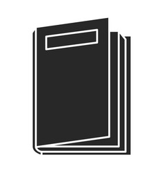 text book school icon vector image