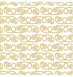 Seamless pattern marine theme vector