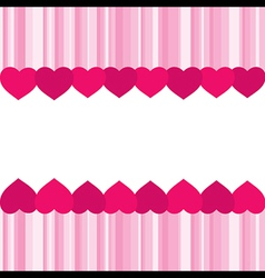 Creative valentine greeting banner design vector
