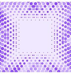 Geometric background design in purple vector