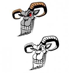 Wild ram vector