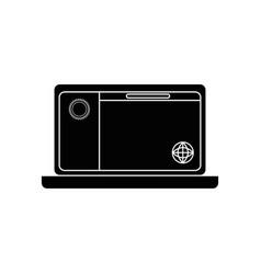 Pc laptop business vector