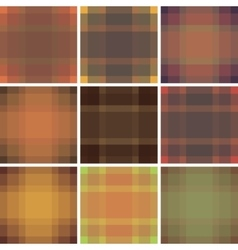 Seamless british pattern background collection vector