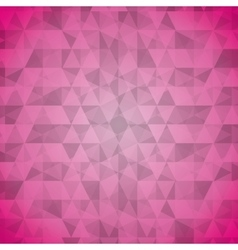 Geometric pink tones background patterns icon vector
