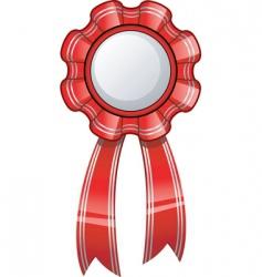 glossy ribbon vector image