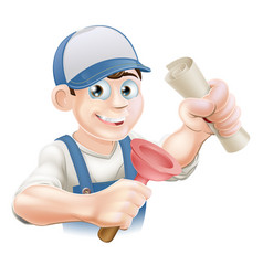 Plumber with qualification vector