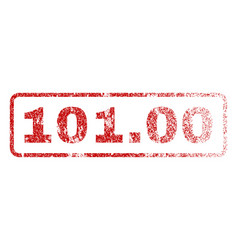 10100 rubber stamp vector image vector image
