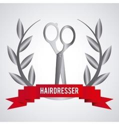 Hairdresser icons design vector