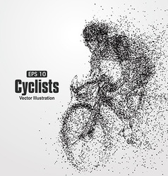 Cyclists particle divergent composition vector