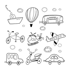different transport vector image