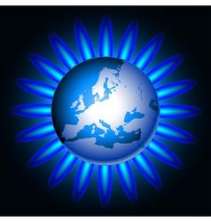 gas vector image vector image