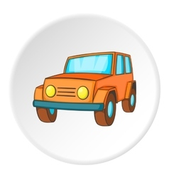 Offroad icon isometric style vector