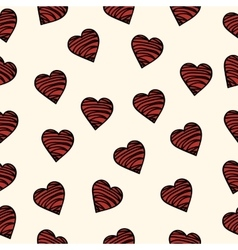 pattern of love the inscription vector image vector image