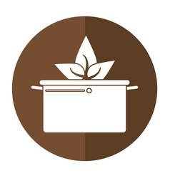 Vegetarian food organic diet shadow vector