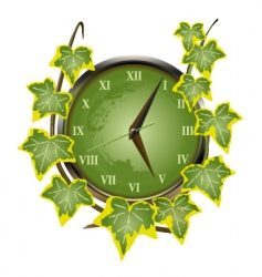 clocks and watches vector image