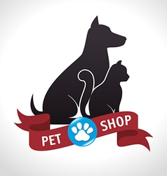 Pet design vector