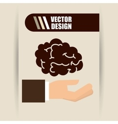 Providings hands design vector