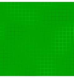 Green chequered background vector