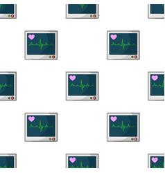 Medical monitormedicine single icon in cartoon vector