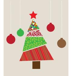 Tree Christmas vector image
