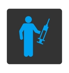 Drug dealer icon vector