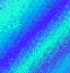 Abstract geometric triangle blue background vector
