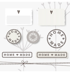 62 6 2016 home made vector image